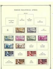 Small Mint. Used French Equatorial Africa Collection On Scott Pages - See! (W)