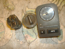Saab 900 9000 switches headlight clock 9627811 705193 8590838  1988 yr
