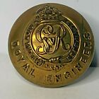 WW1 Royal Engineers Button 25 mm King George V Cipher Star Stamped Back