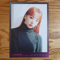 Vivi Loonaverse Concert Official MD Loona Mini Poster Monthly Girl Kpop
