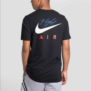Nike Air Jordan Legacy AJ4 IV 4 Retro Men T-Shirt Black CQ8297