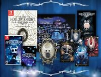 Hollow Knight Collector's Edition Nintendo Switch +Gold Foil Print+Cloth PreSale