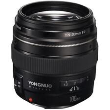 Yongnuo YN-100mm F2 YN100mm Canon Medium Telephoto Prime Lens Brand New