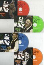 FATS WALLER 'Handful of Keys' 101 digitally remastered jazz tracks, PROPER 4CD