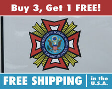 VFW Bumper Sticker Veterans of Foreign Wars Hi-Performance Bumper Sticker Decal