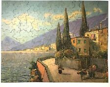 Vintage Jigsaw Puzzle - Perfect Picture Puzzle - Sunny Harbor 1930s