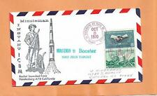 ROCKET LAUNCH FROM VAFB MINUTEMAN B BOOSTER NIKE ZEUS TARGET 1970  SPACE COVER