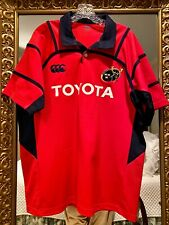 Munster Rugby Jersey Toyota Canterbury of New Zealand Short Sleeve L Free Ship