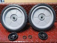 """2 x 8"""" Honda wheel set suit HRU194 HRU195 and older HRU196 ph.0397292692"""