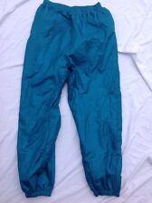 "Rare Vintage 90s Active Wear Windbreaker Pants Mens XL Green 29"" inseam"