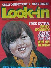 LOOK-IN MAGAZINE 18TH JUNE 1973 - JIMMY OSMOND
