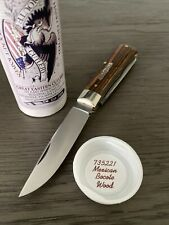 GEC #73 Scout Trapper Mexican Bocote Tidioute Cutlery Great Eastern Cutlery