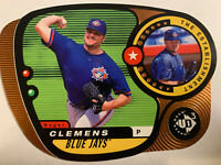 1998 UD3 Die Cuts Roger Clemens The Establishment 535/1000 Toronto Blue Jays