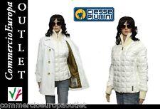piumino giacca doppia donna invernale giubbotto piuma d'oca ciesse piumini Stock