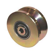 """4"""" V Groove Wheel Double Bearing Sliding Gate 3000 lbs Roller Slide + Screw"""