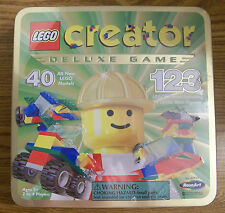 Lego CREATOR DELUXE GAME The Race to Build it Board Game Vintage RARE BRAND NEW