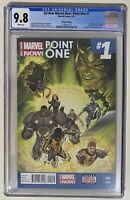 All New Marvel Now Point One 1 CGC 9.8 First Kamala Khan 2nd Print Comic 2014