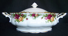 Royal Albert Old Country Roses Covered Serving Bowl
