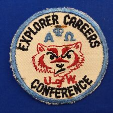Boy Scout 1950's Explorer Careers Conference U of W Patch Wisconsin