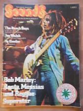 + SOUNDS 10/1975 Bob Marley The Beach Boys Joe Walsh Ry Cooder Lazy Farmer