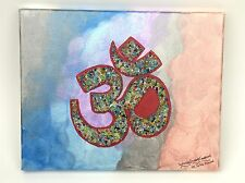 Canvas wall art OM symbol- Yoga -Zen-Tranquility Painting-Unique