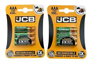 JCB Rechargeable NiMH 1.2v 650 900 mAh AAA Cordless Phone Replacement Batteries