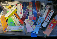5 10 25 50 Leather Bookmarks Teacher Party School Bag Surprise Mix Random lot