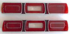 1971 AMC MATADOR PAIR OF USED TAIL LIGHT LENSES. LH & RH.