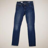 Womens Gap Size 26 Always Skinny Jeans Dark Wash