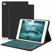 iPad Mini Keyboard Case,Compatible with iPad Mini 5/4/3/2/1,Boriyuan PU Case