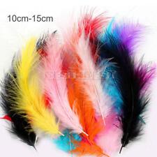 100 pcs Coq Queue dinde plume 4-6 inch / 10-15cm Decoration Creatif Artistique
