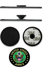 Pull Up Holder Expanding Stand Hand Grip Mount w/US Army Sticker