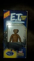 2002 Kraft Macaroni & Cheese E.T.  Bendable Toy New open box