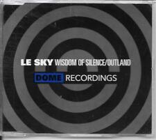 MAXI CD 2 TITRES--LE SKY--WISDOM OF SILENCE / OUTLAND--1994