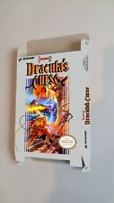Castlevania III - REPRODUCTION - box only - NES. Pudełko do gry Tetris na NES'a.