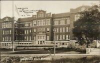 Westport High School - Publ in Kansas City MO c1910 Real Photo Postcard jrf