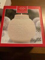 Lenox Ornament Glow Snowflake Votive Candle Holder, New