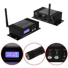 2.4G DMX512 Wireless Transmitter Receiver System für Bühnenlicht Steuerung LCD