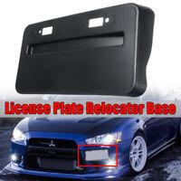 Front License Plate Relocator Base For 2008-2018 Mitsubishi Lancer GTS EVO