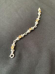 Lagos Caviar Citrine Bracelet.
