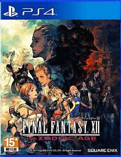 Final Fantasy XII The Zodiac Age HK Chinese subtitle Japan Voice PS4 NEW
