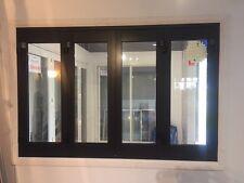 ALUMINIUM BIFOLD WINDOW 4 PANEL, NEW 1800 x 1200h, WHITE  PRE ORDER