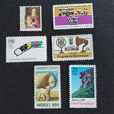 US Errors, Freaks & Oddities  EFO Collection of 6 VF misregistration color