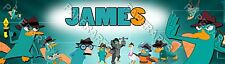 """Personalized Agent P Perry the Platypus Poster Name Banner 8.5x30"""" Birthday Arts"""