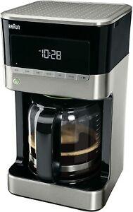 Braun KF 7120 Cafetera eléctrica semi-automática con jarra de cristal 1000 W