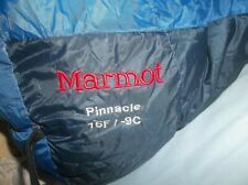 Marmot Pinnacle 15F Micro Fiber 800 fp Goose Down Sleeping Bag Regular Excellent
