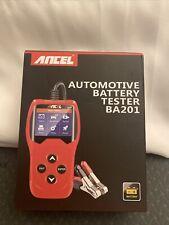Ancel BA201 Automotive 12V Battery Load Cranking Charging Test Tool 100-2000CCA