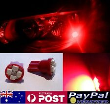 Red LED T10 Parker Bulbs - Ford Falcon EA EB ED EF EL BA AU FG BF