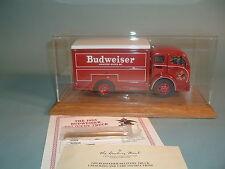 1955 BUDWEISER DELIVERY TRUCK & DISPLAY CASE DANBURY MINT DIECAST 1:24