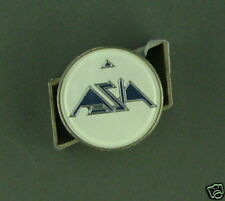 RARE VINTAGE ASIA WHITE ENAMEL PIN CONDITION NEW